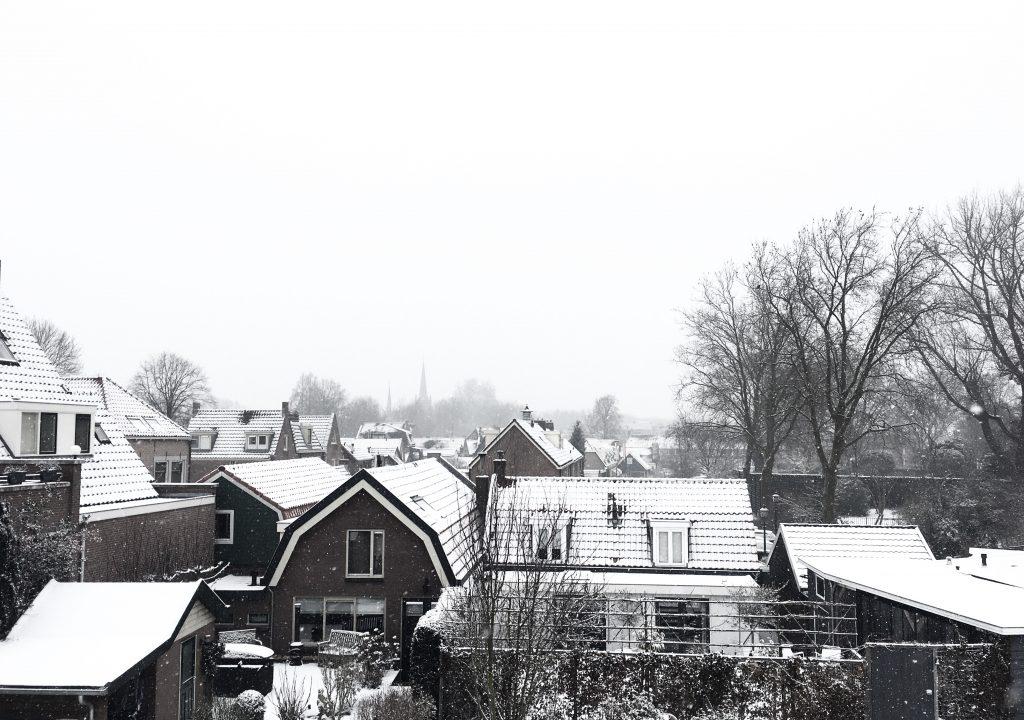 Vreeswijk sneeuw