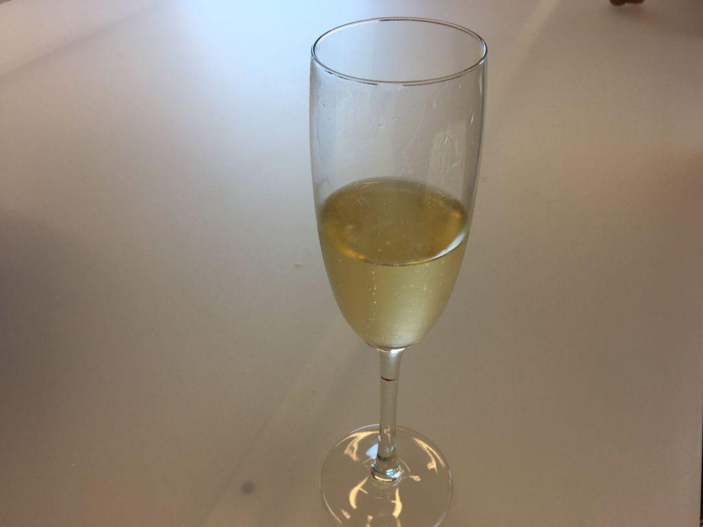 Champagne bij Solvari