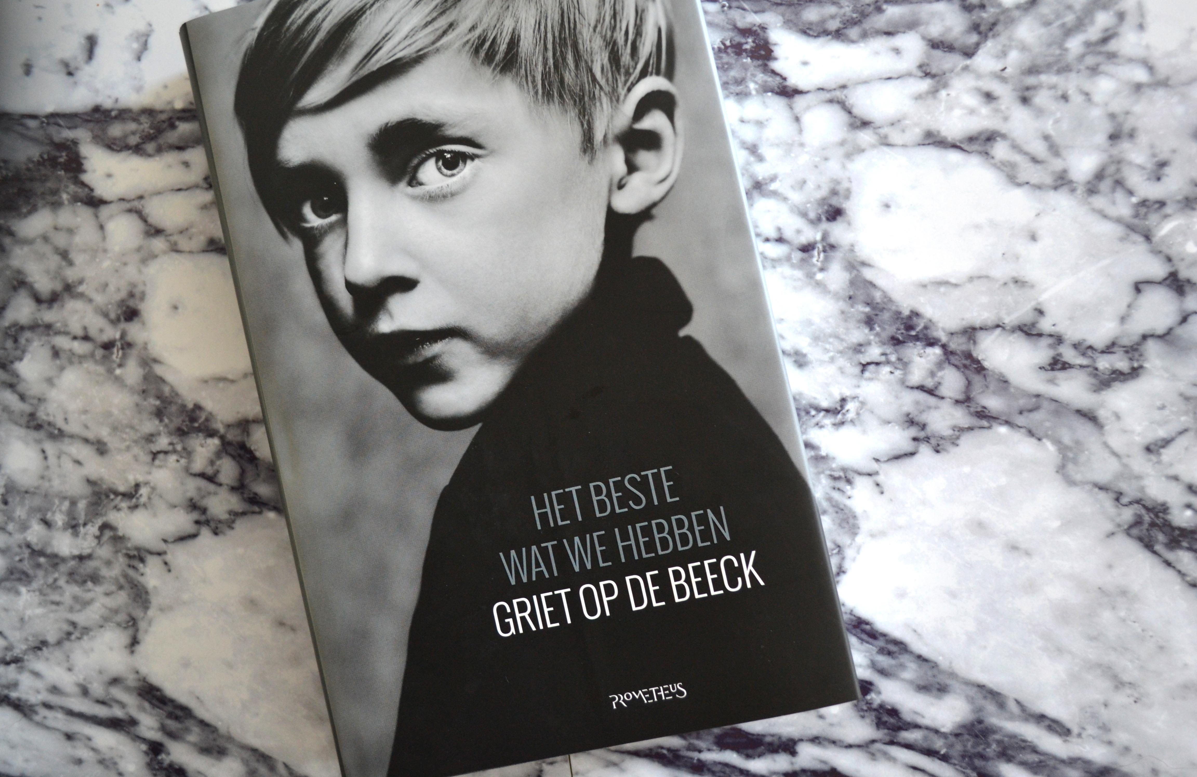 Het beste wat we hebben Griet Op de Beeck recensie