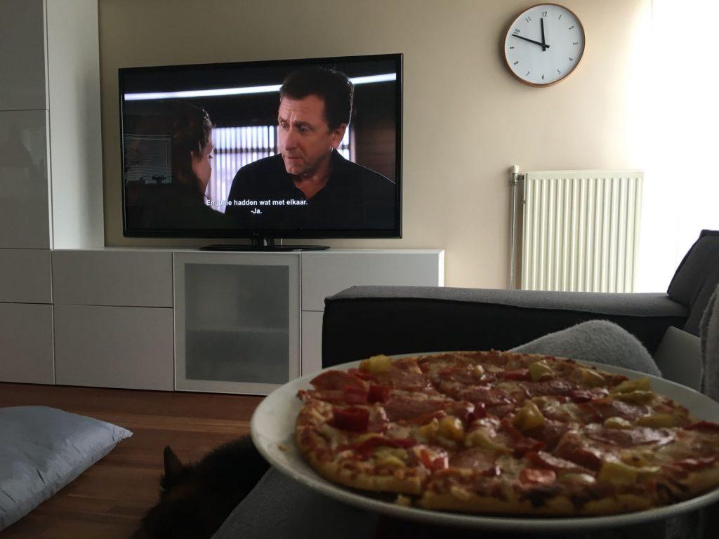 Pizza en Lie to Me