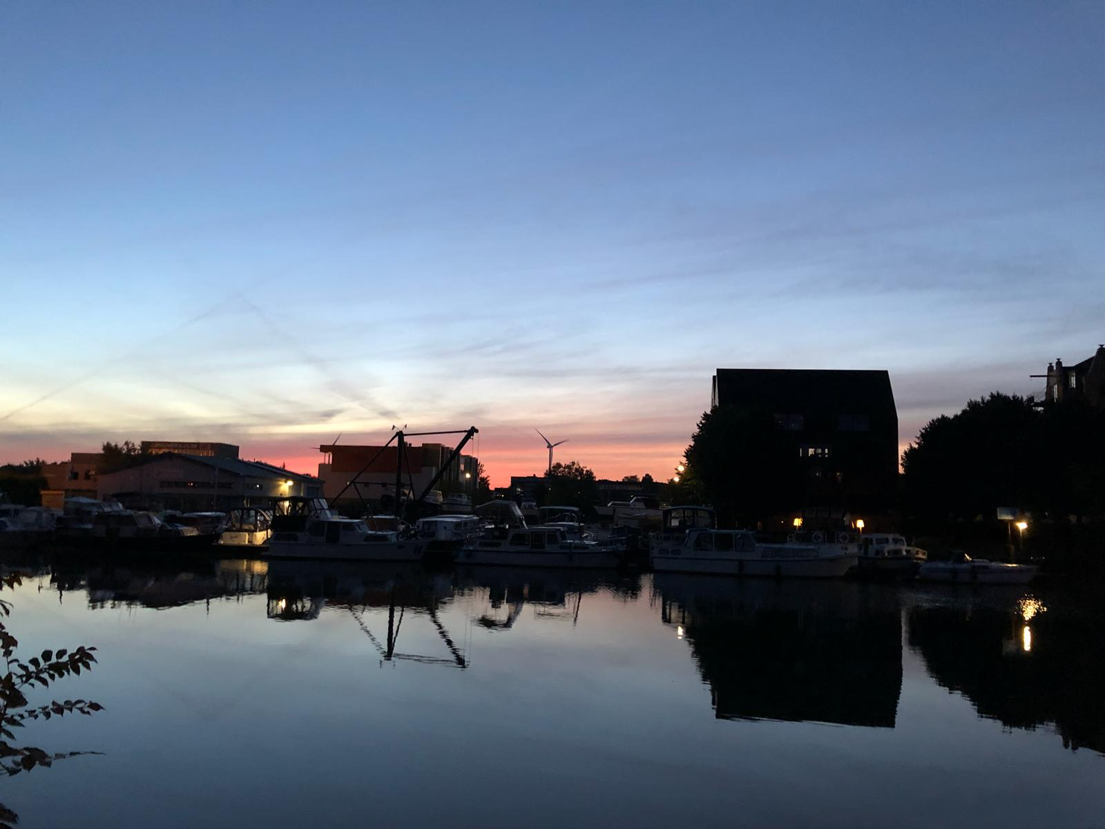 Vreeswijk in de ochtend