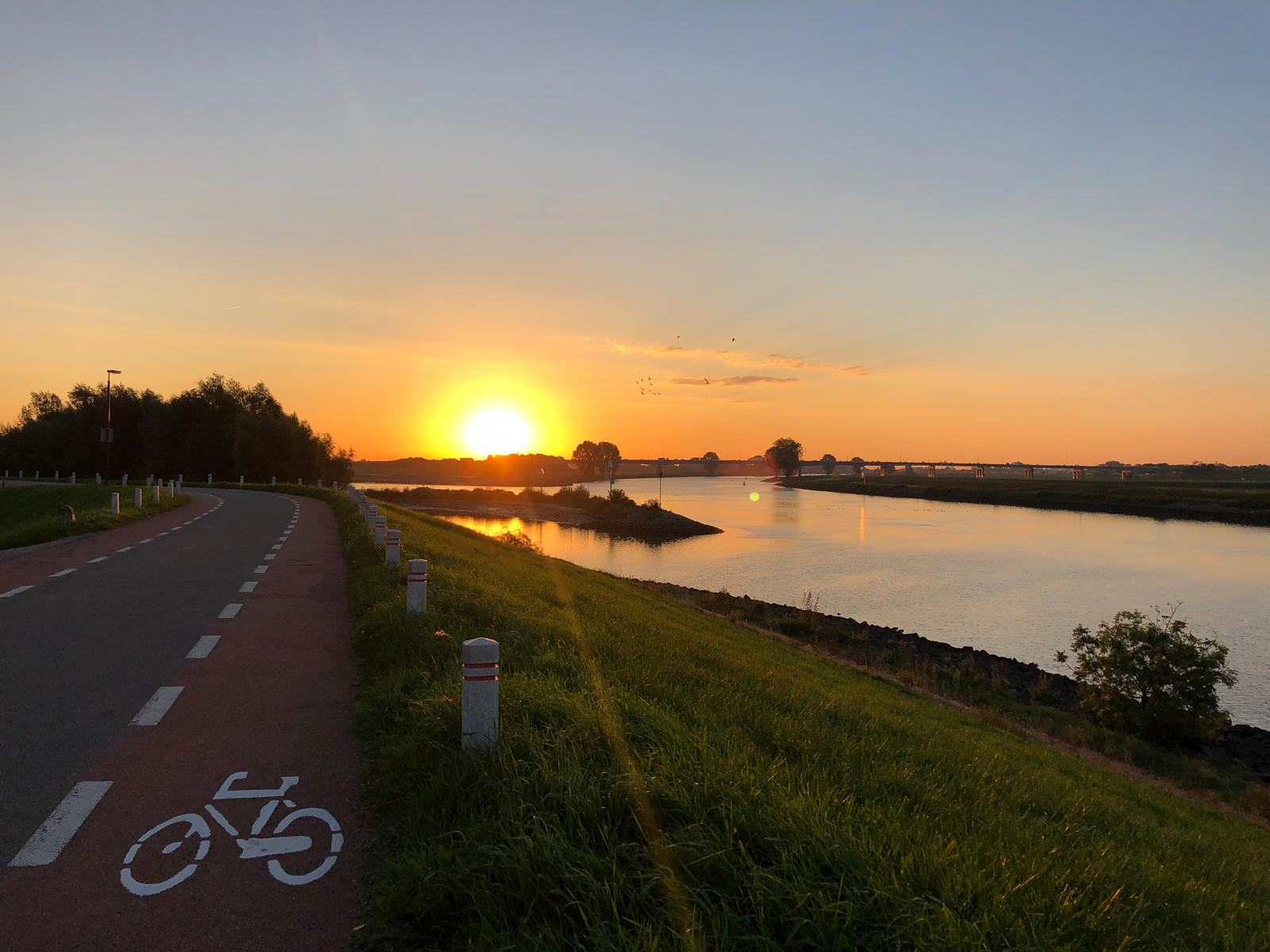 Zonsopgang Lek Vreeswijk