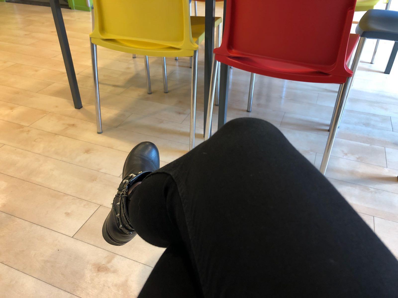 #bijdepsycholoog wachtkamer