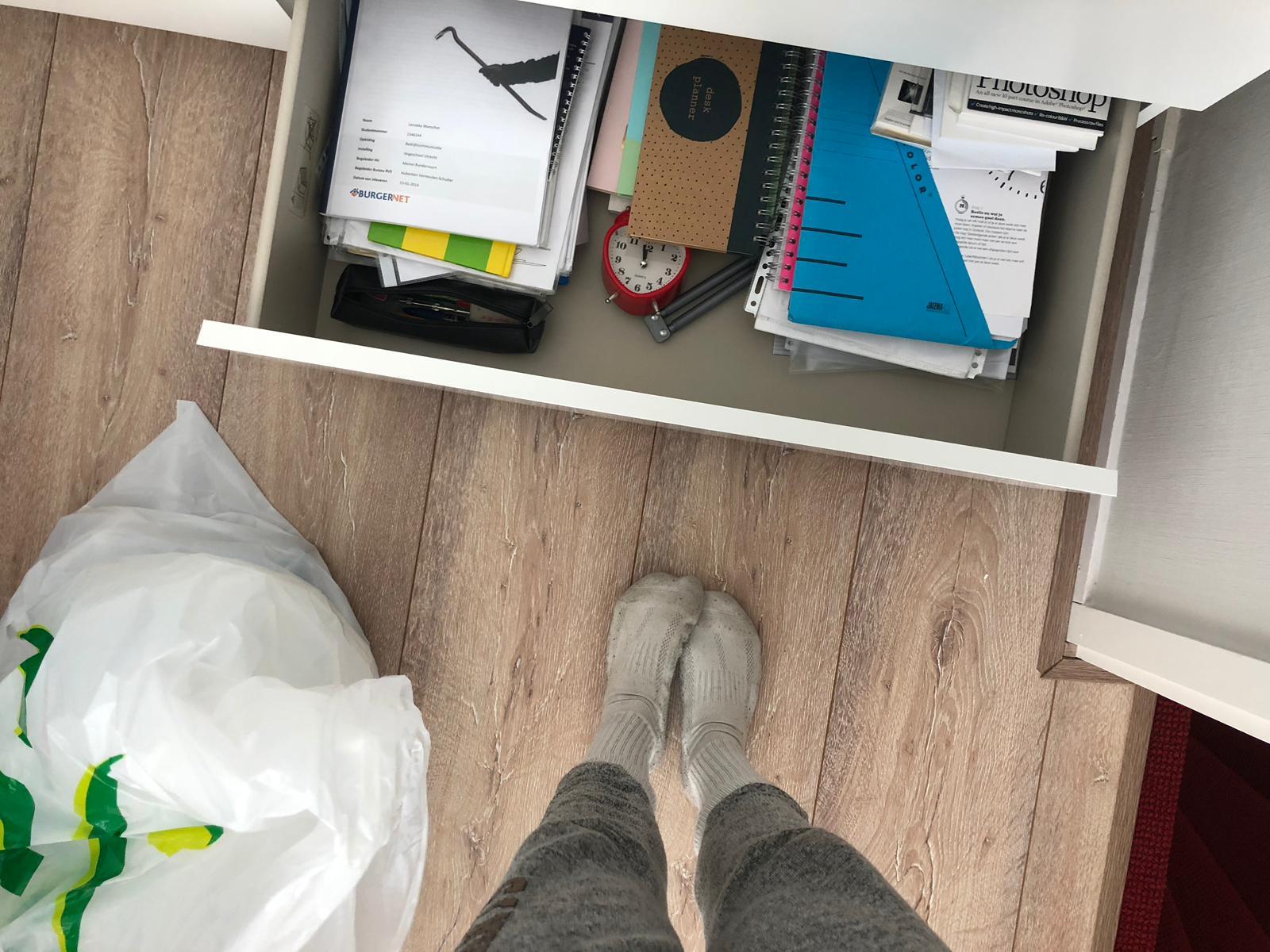 Beginnen met inpakken verhuizing
