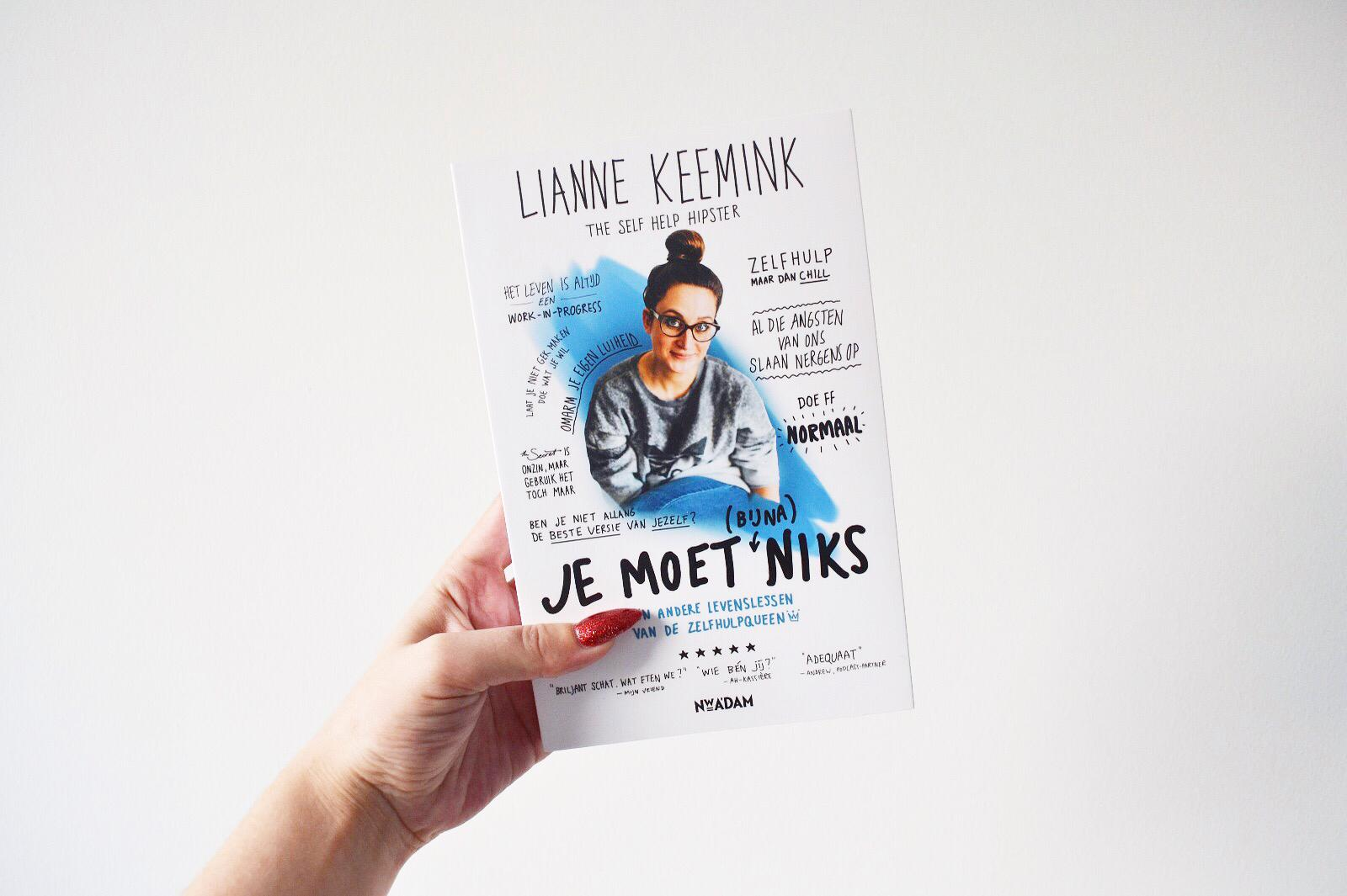 Lianne Keemink - Je moet (bijna) niks