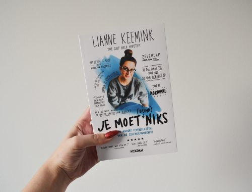 Lianne Keemink - Je moet bijna niks - recensie - selfhelphipster