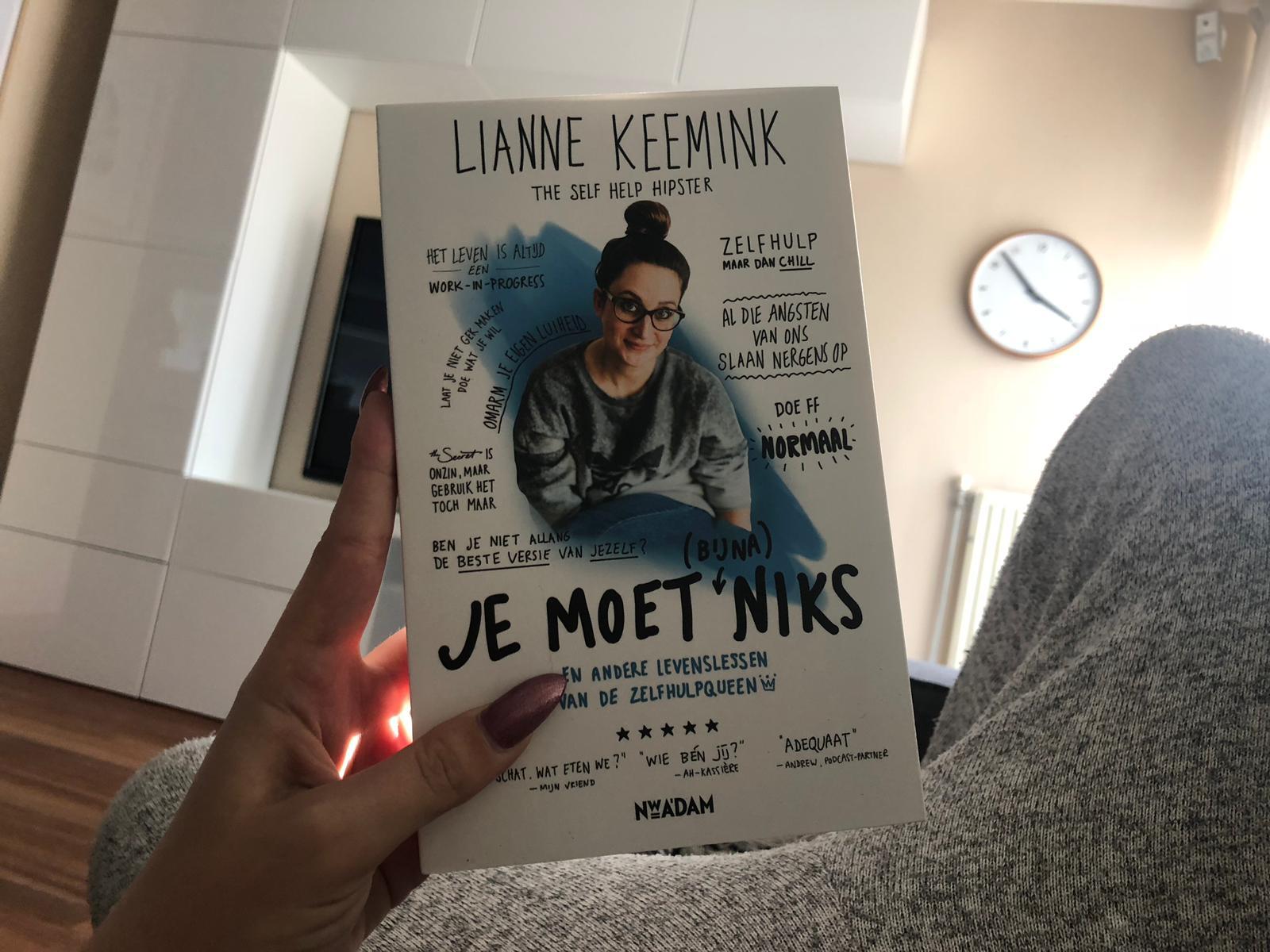 Lianne Keemink - Je moet bijna niks
