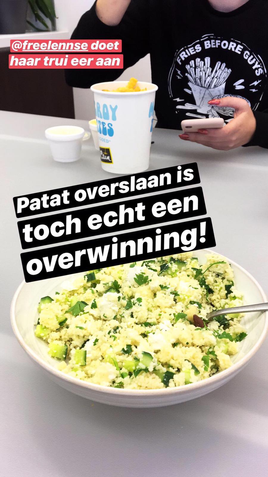 Lunchen met Johan