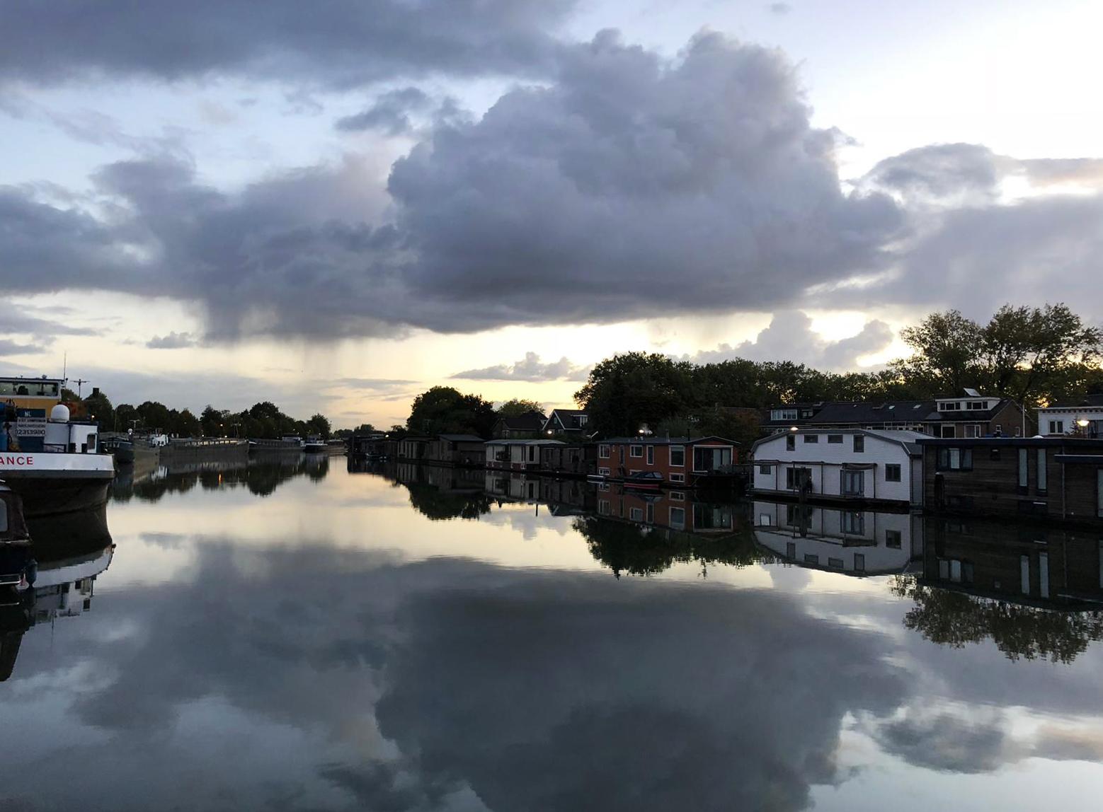 Regen in Vreeswijk