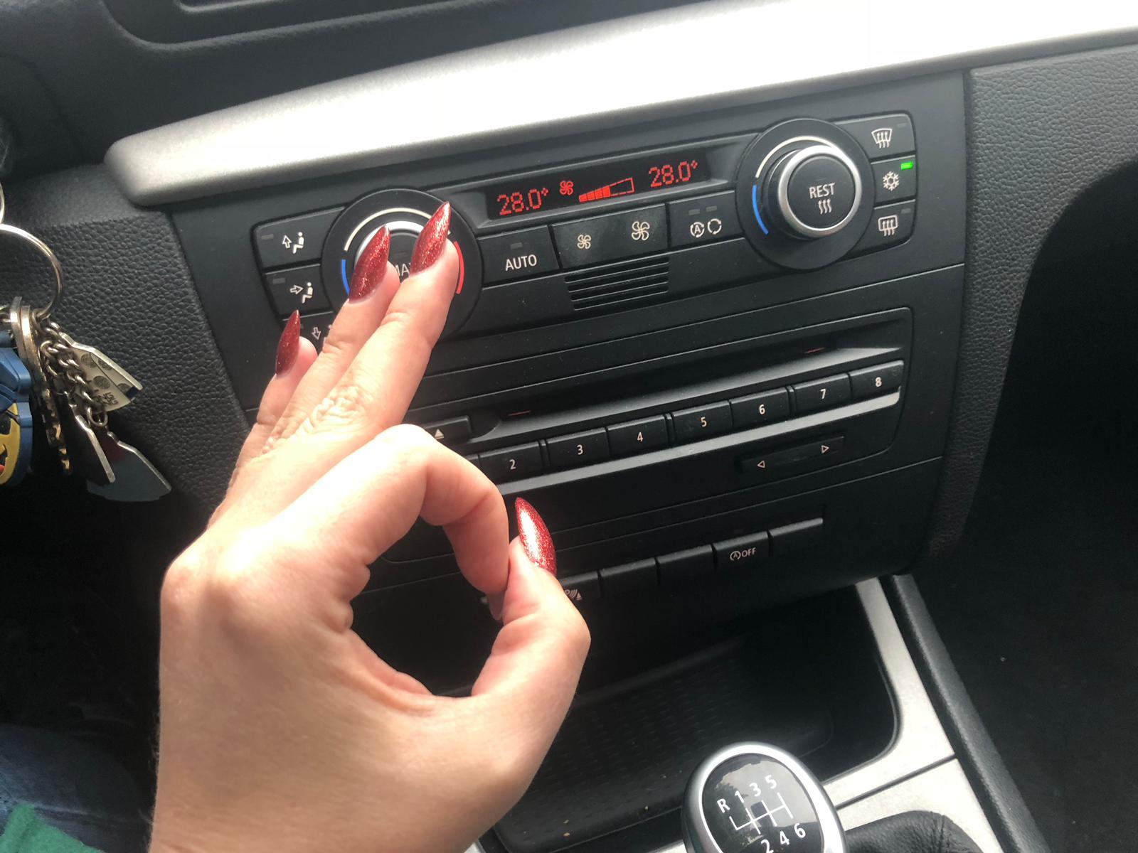 Verwarming in de auto