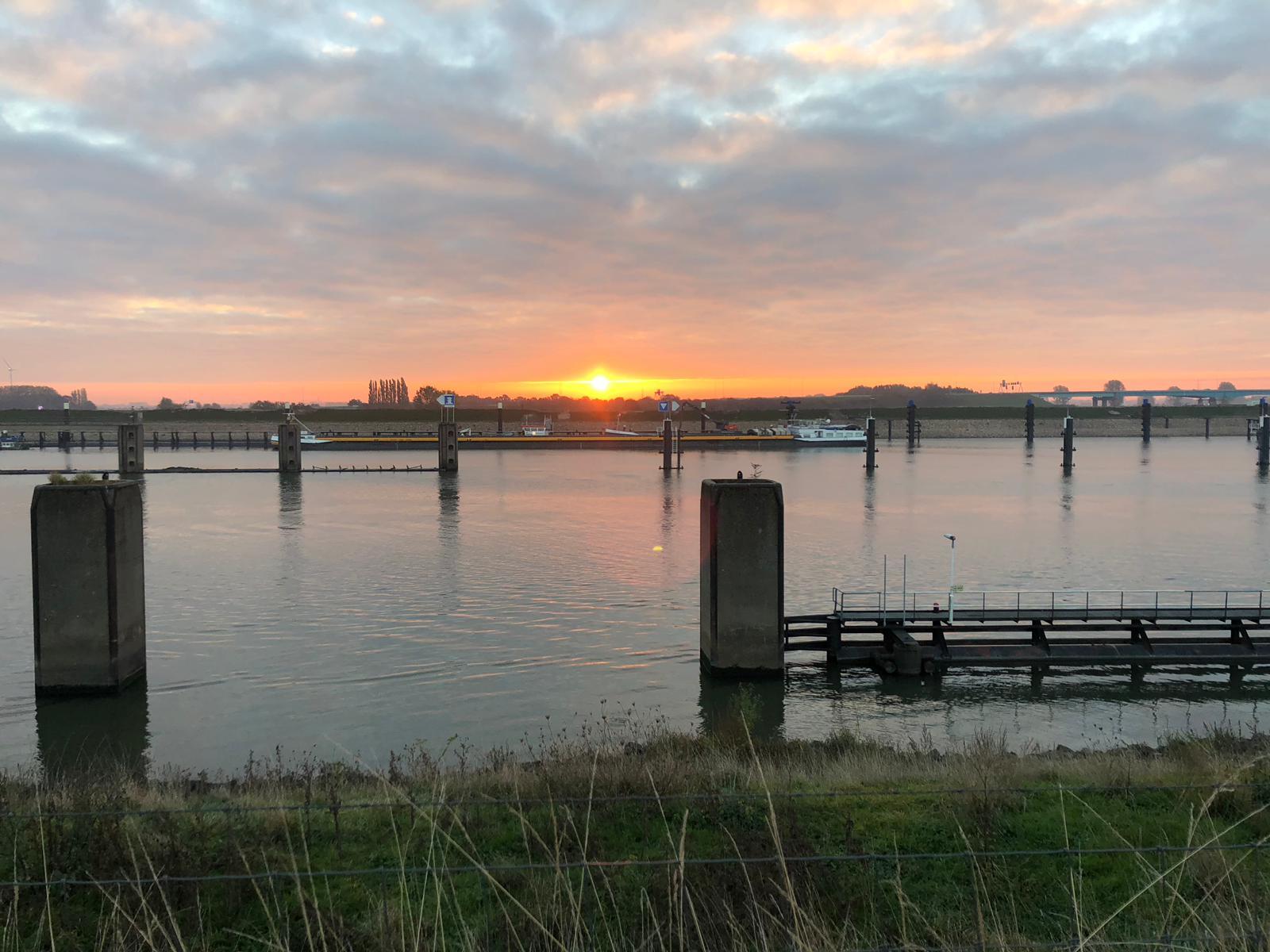 Zonsopgang Voorhavendijk
