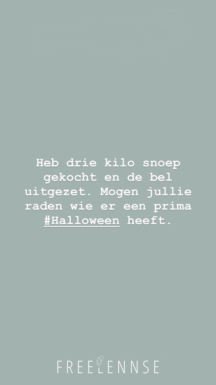 Halloween bel uitzetten