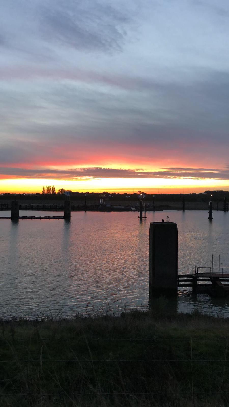 Mooie ochtendlucht Vreeswijk
