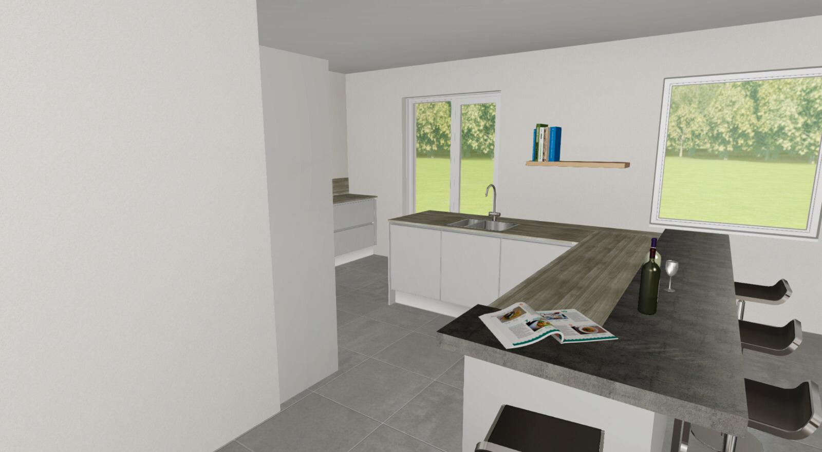 Hello Kitchen keukenontwerp 1