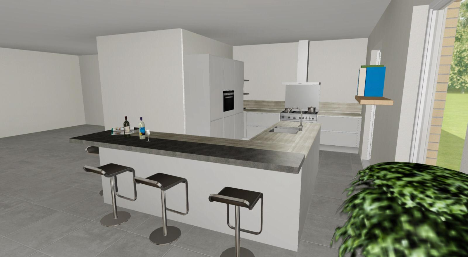 Keukenontwerp Hello Kitchen
