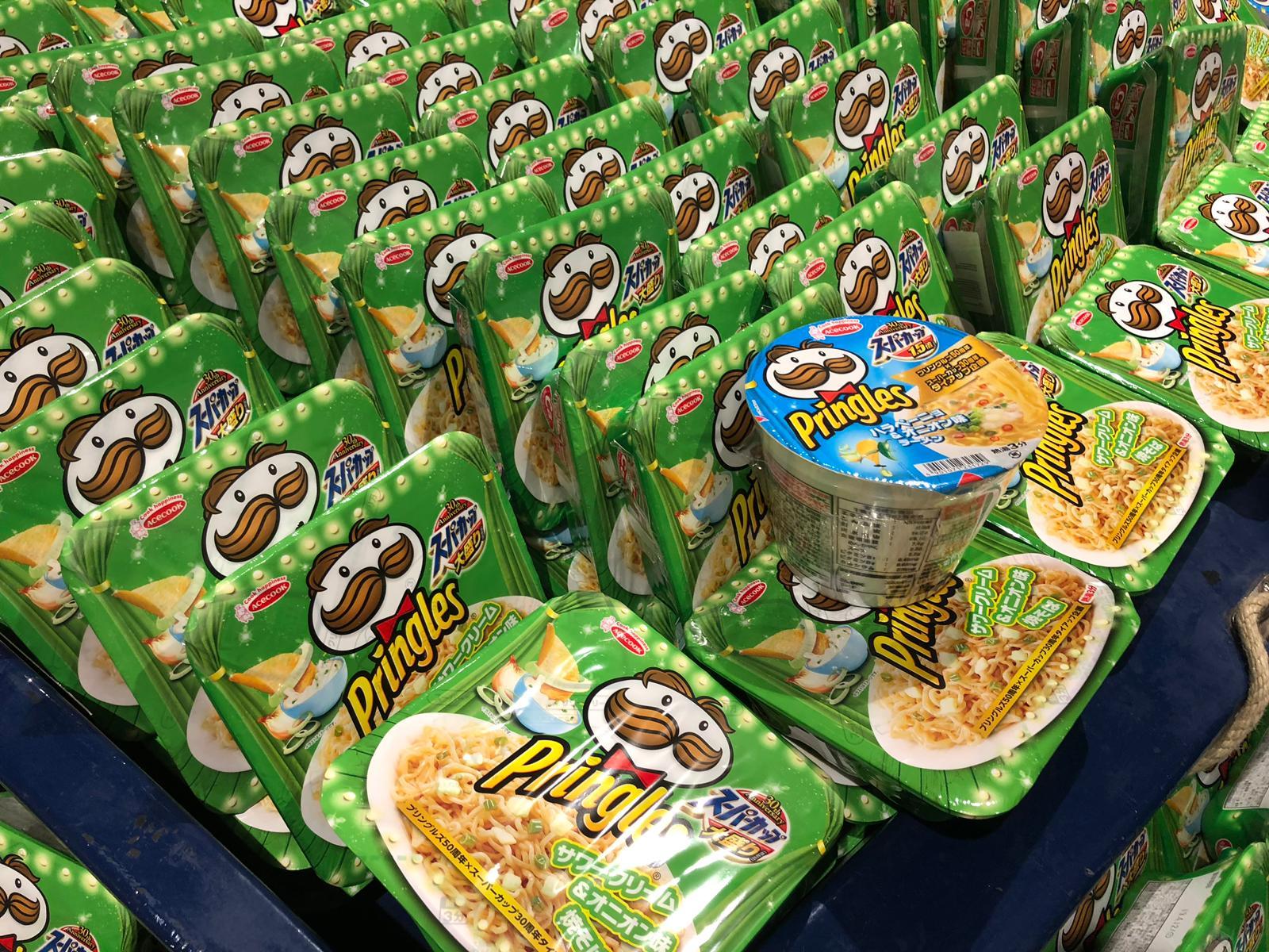 Noodles van Pringles