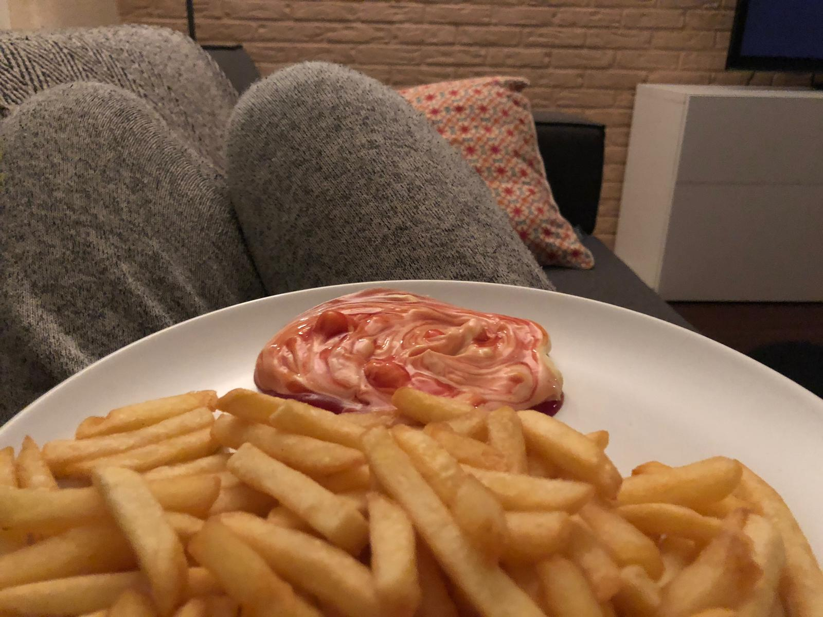 Patat eten