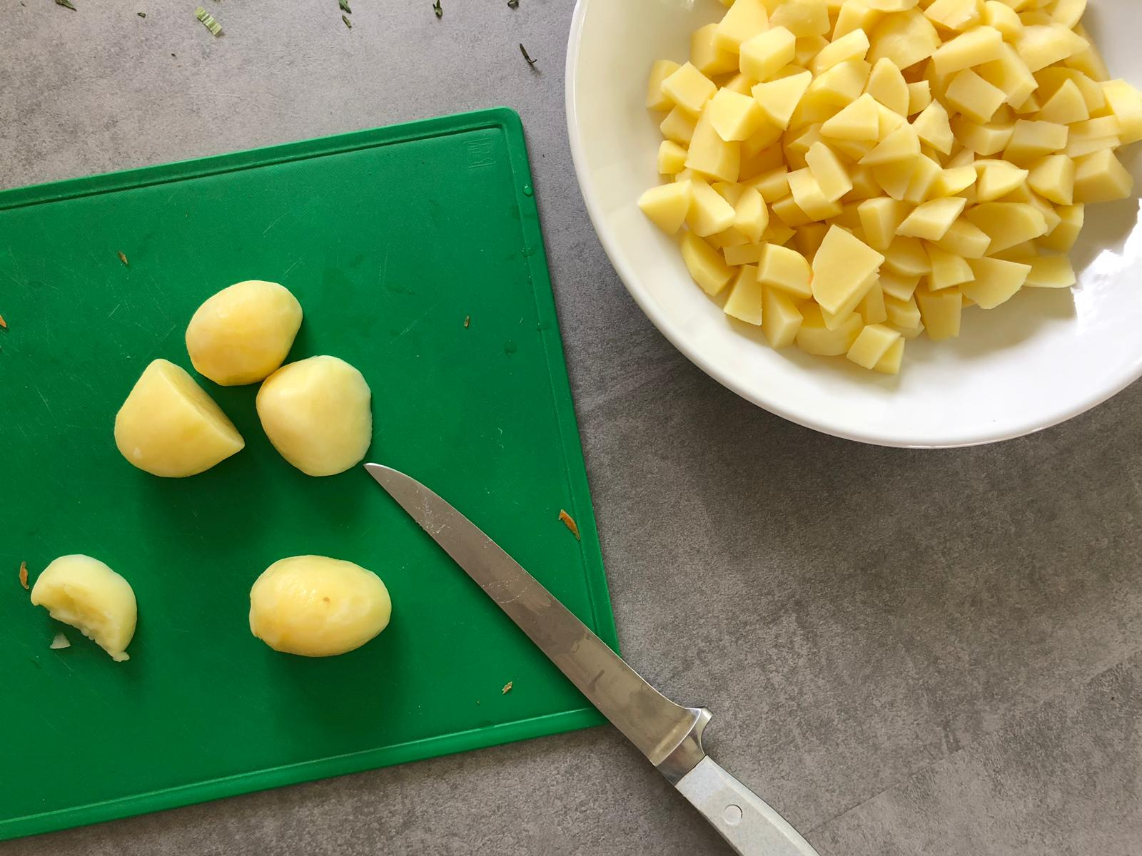 Aardappels Irish Stew