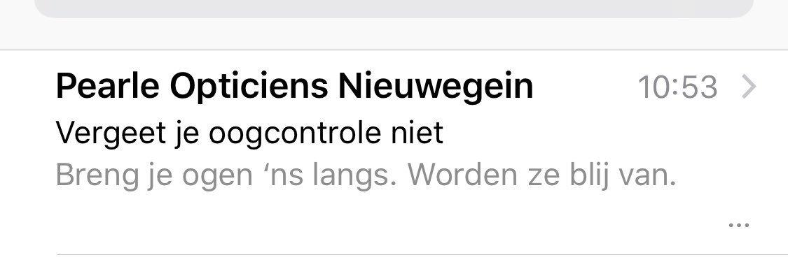 Pearle Nieuwegein tekst