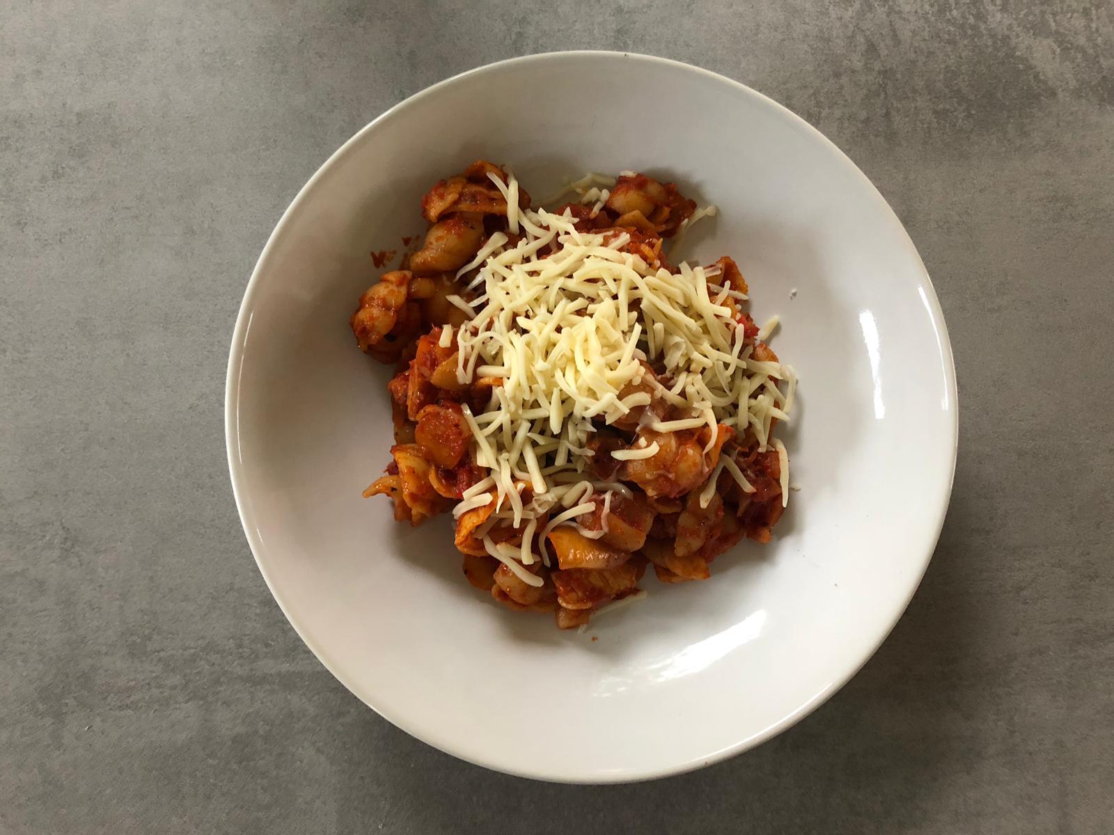 Verse pasta gemaakt
