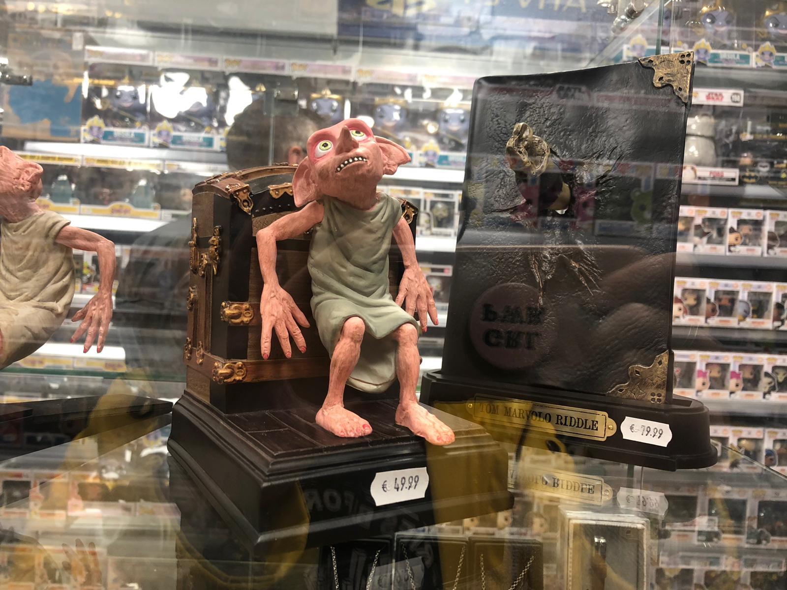 Dobby boekensteun