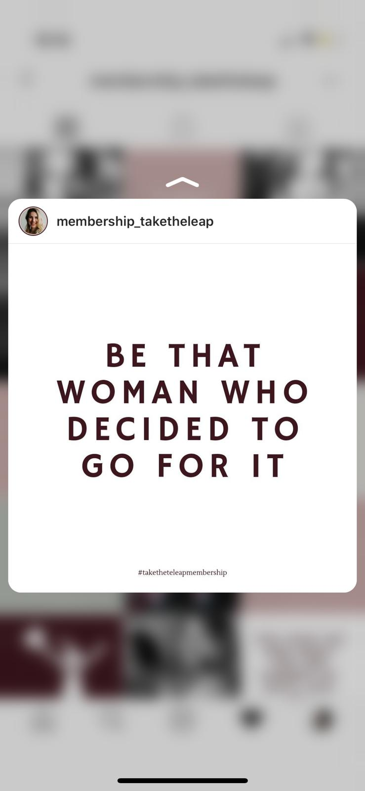 Membership Take The Leap