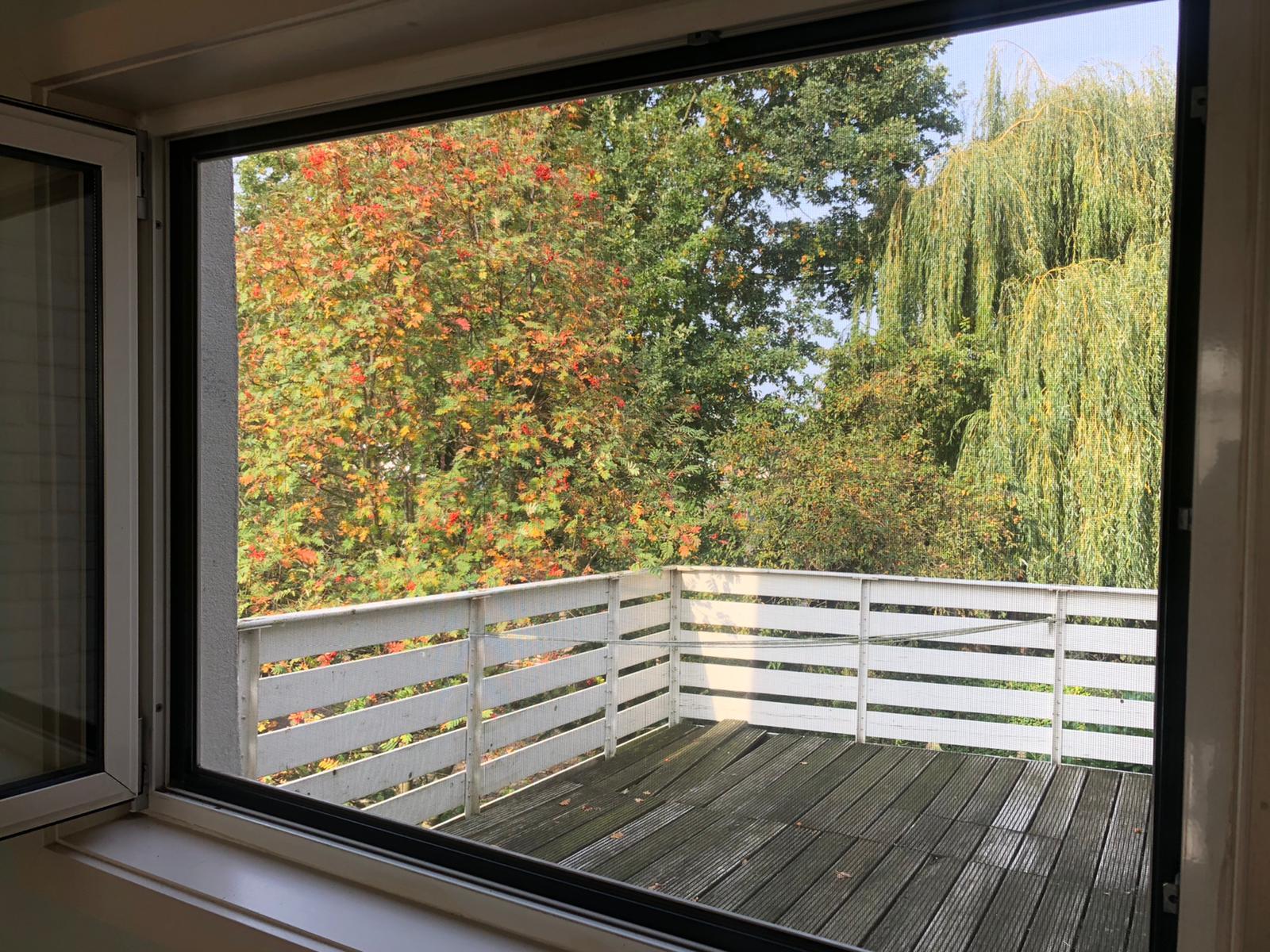 Werken met het raam open
