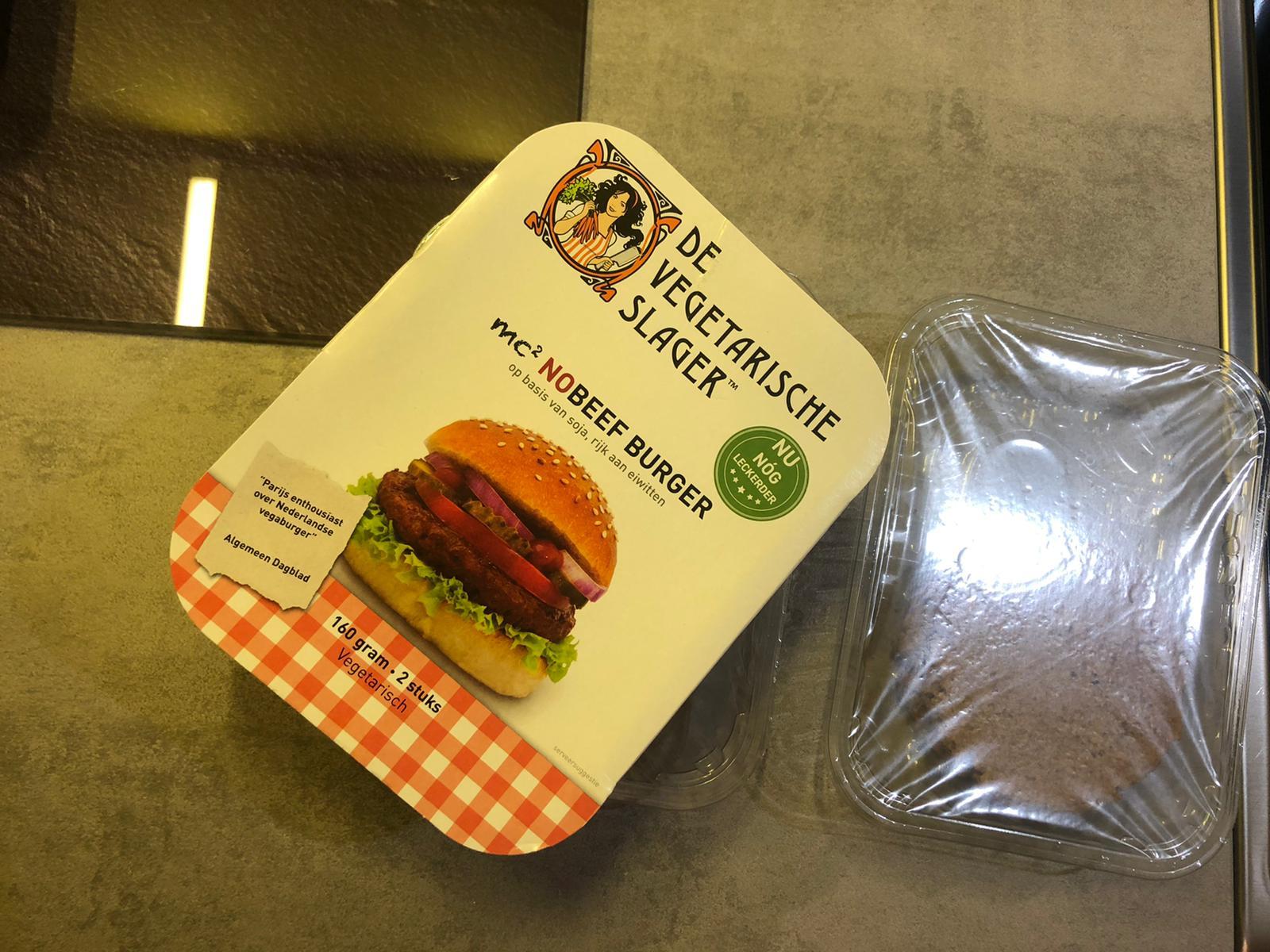 Hamburgers van De Vegetarische Slager