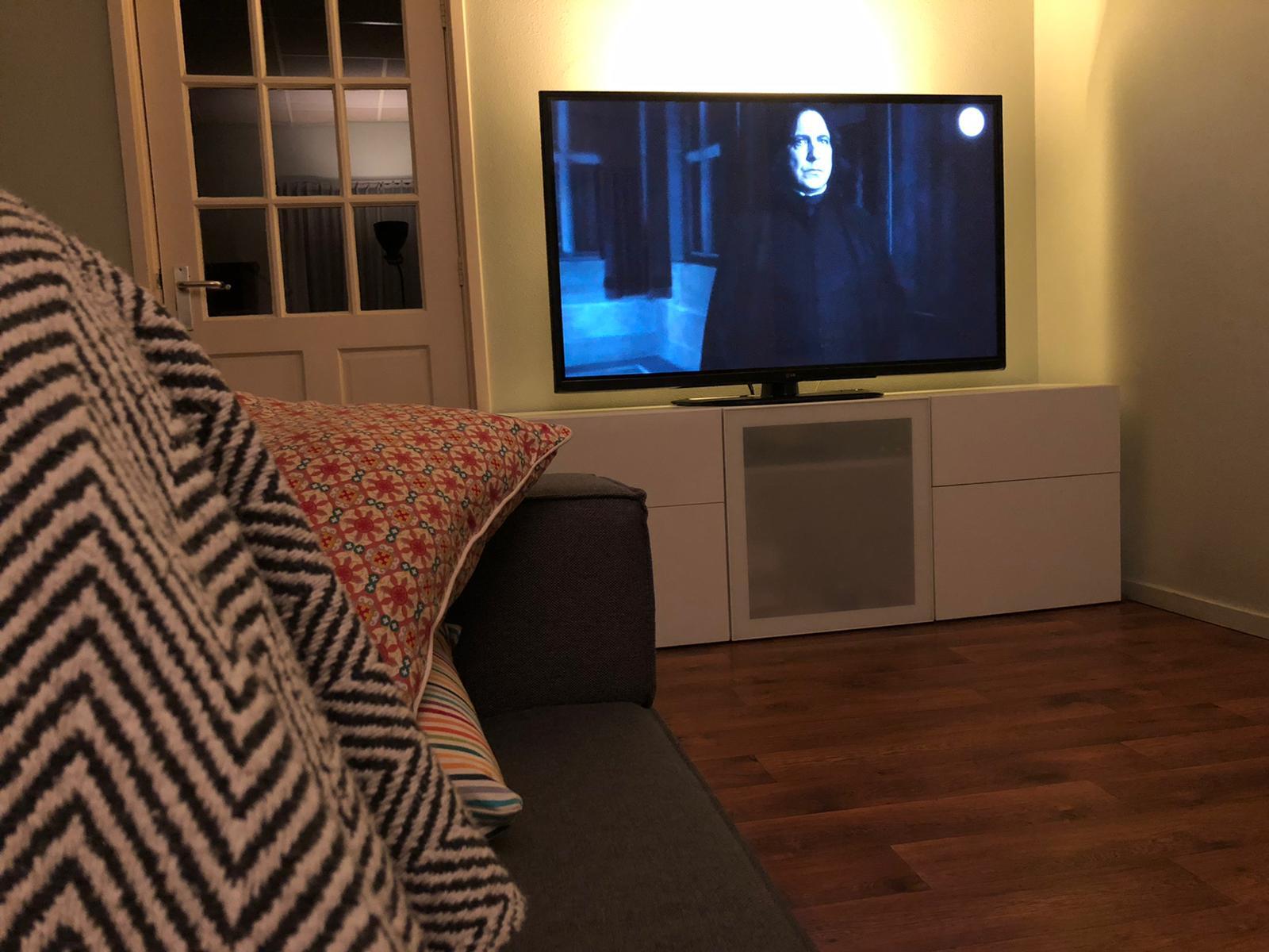 Harry Potter kijken op tv