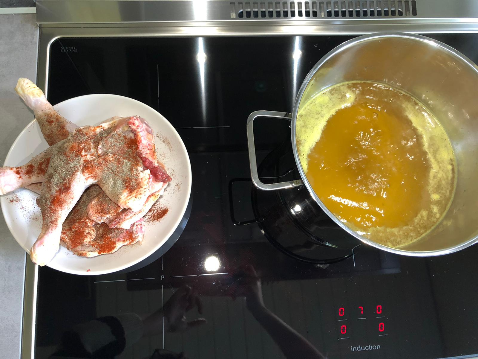 Zelf kippensoep maken