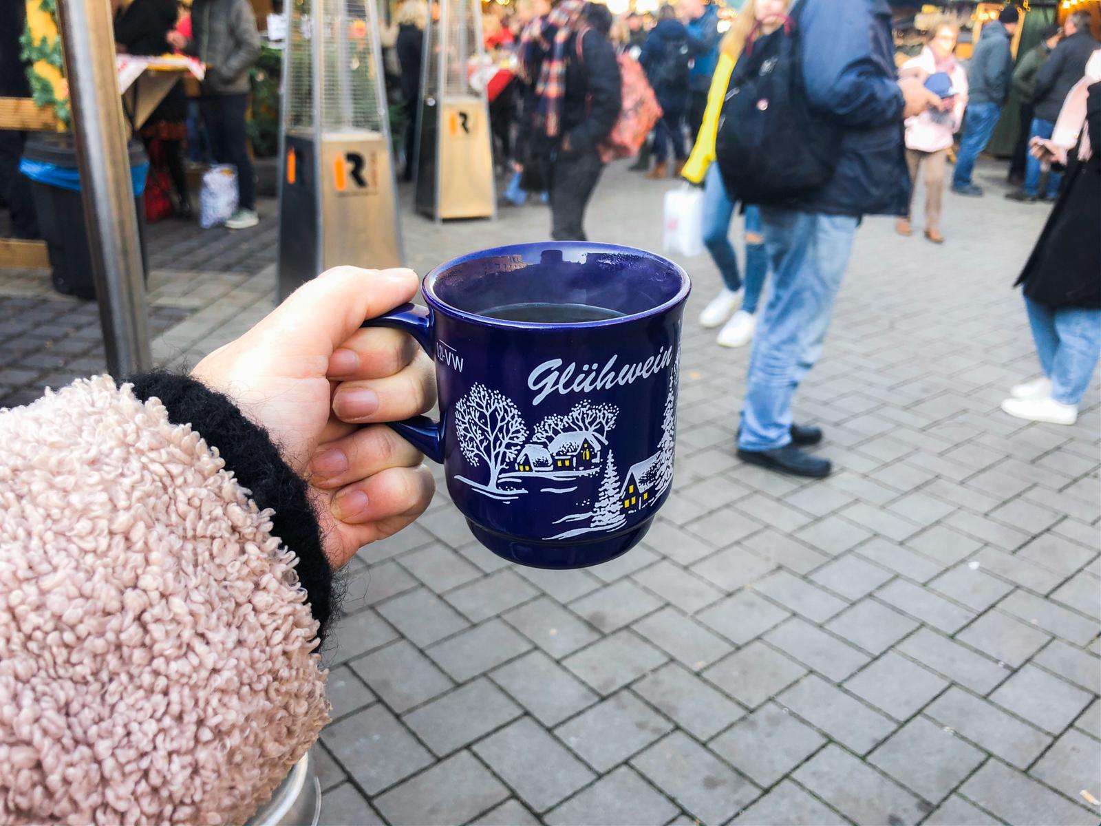 Gluhwein in Kleef