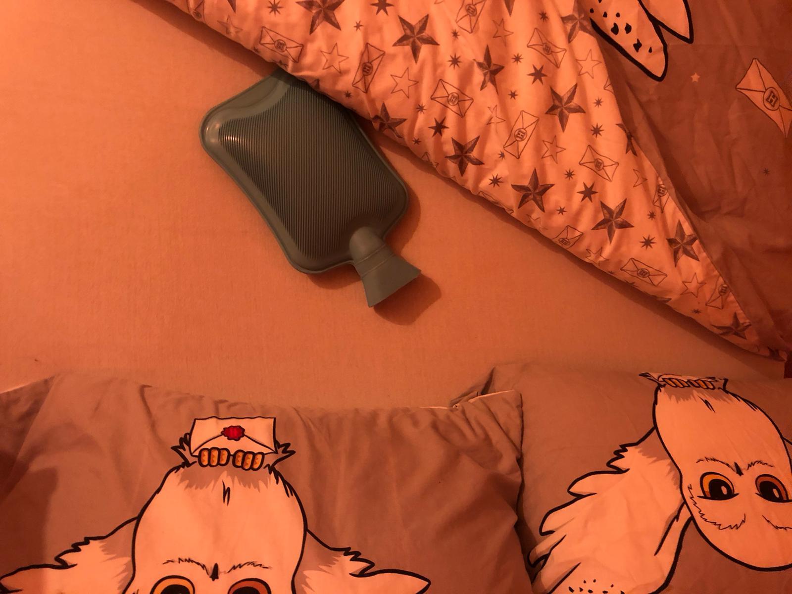 Kruik in bed