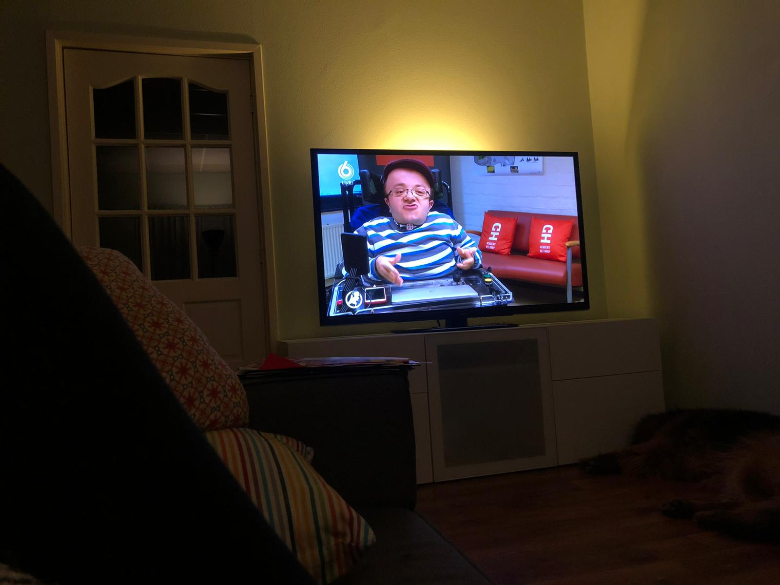 Tim Kroesbergen op tv