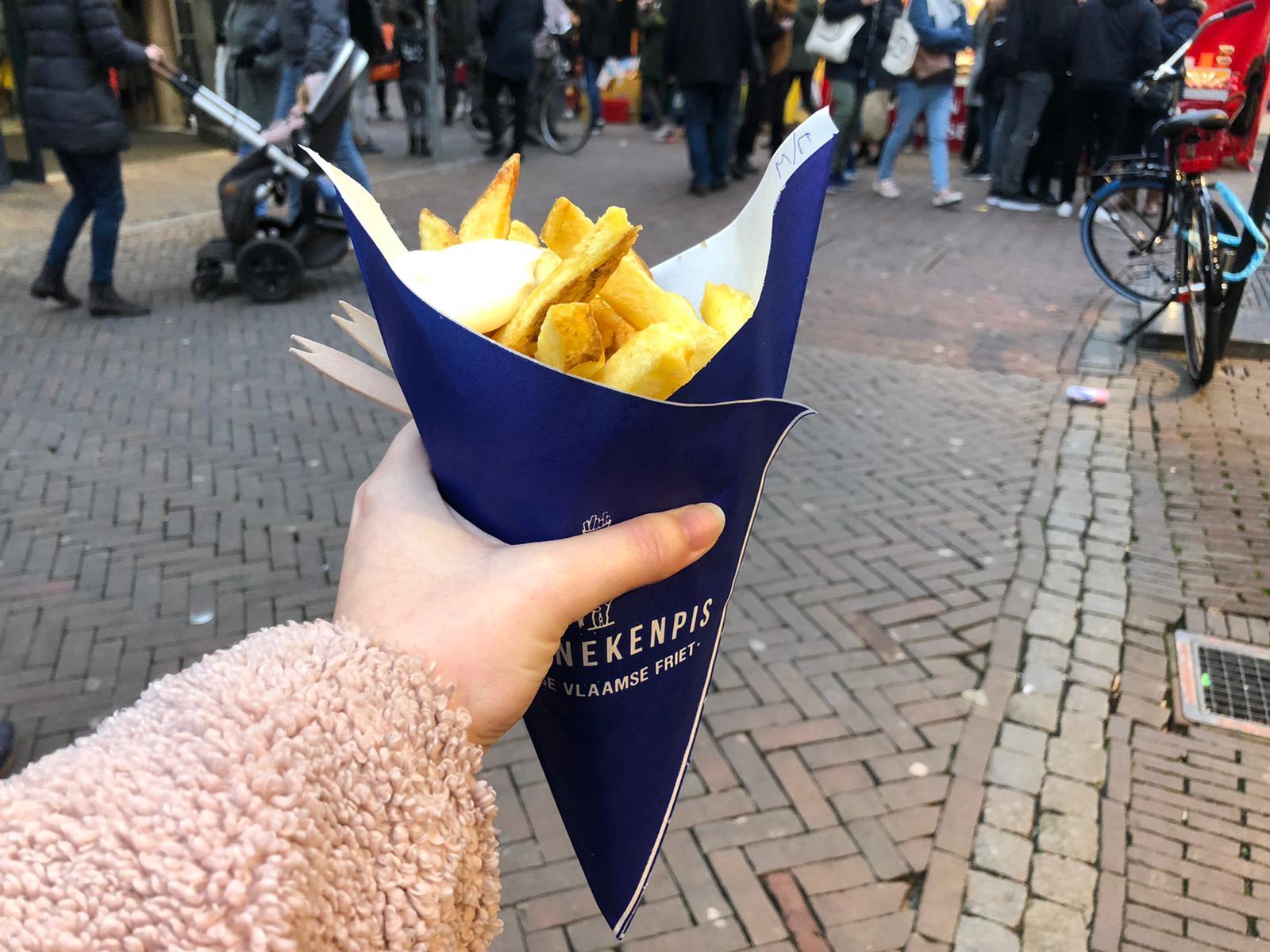 Patat Manneken Pis Utrecht