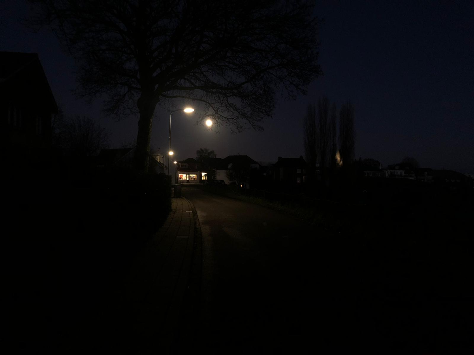 Supergrote maan