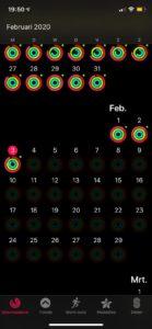 Bewegen in februari