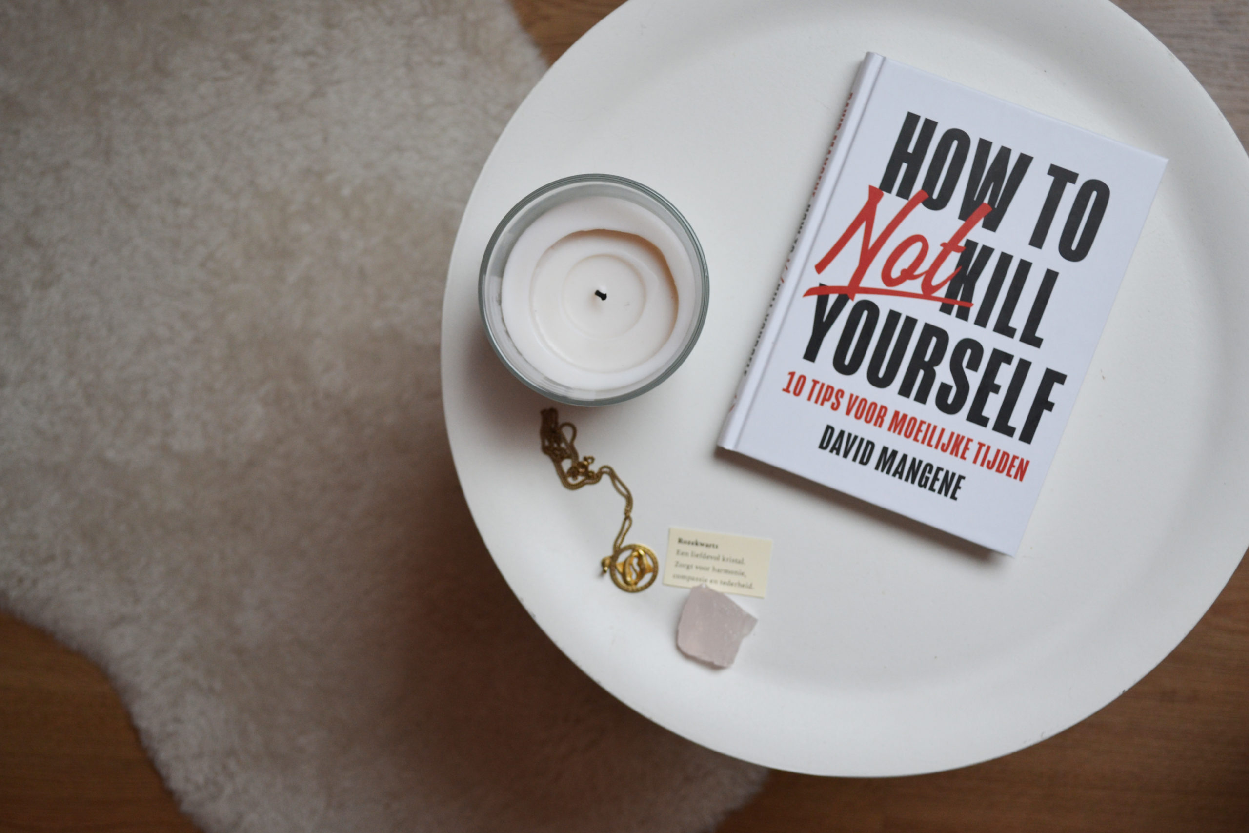 How to not kill yourself - David Mangene
