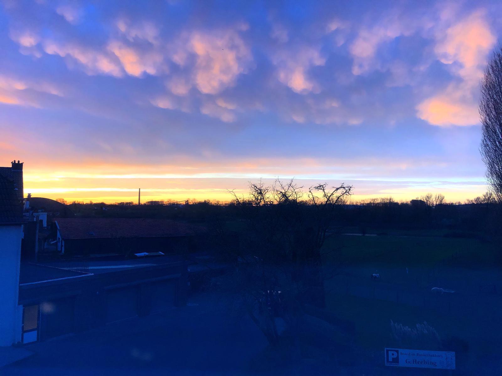 Mooie ochtendlucht