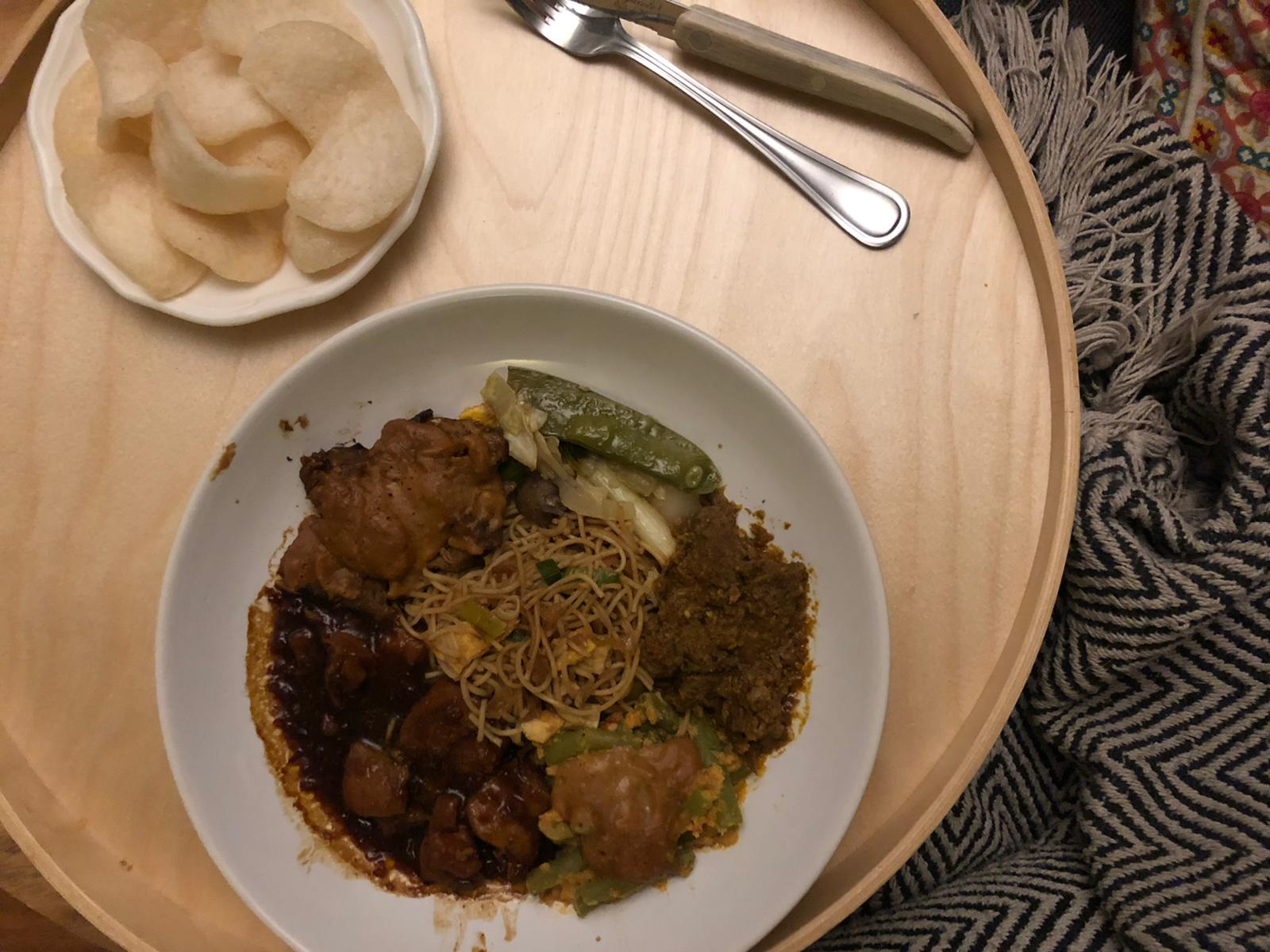 Tante Wies Indische tapas eten