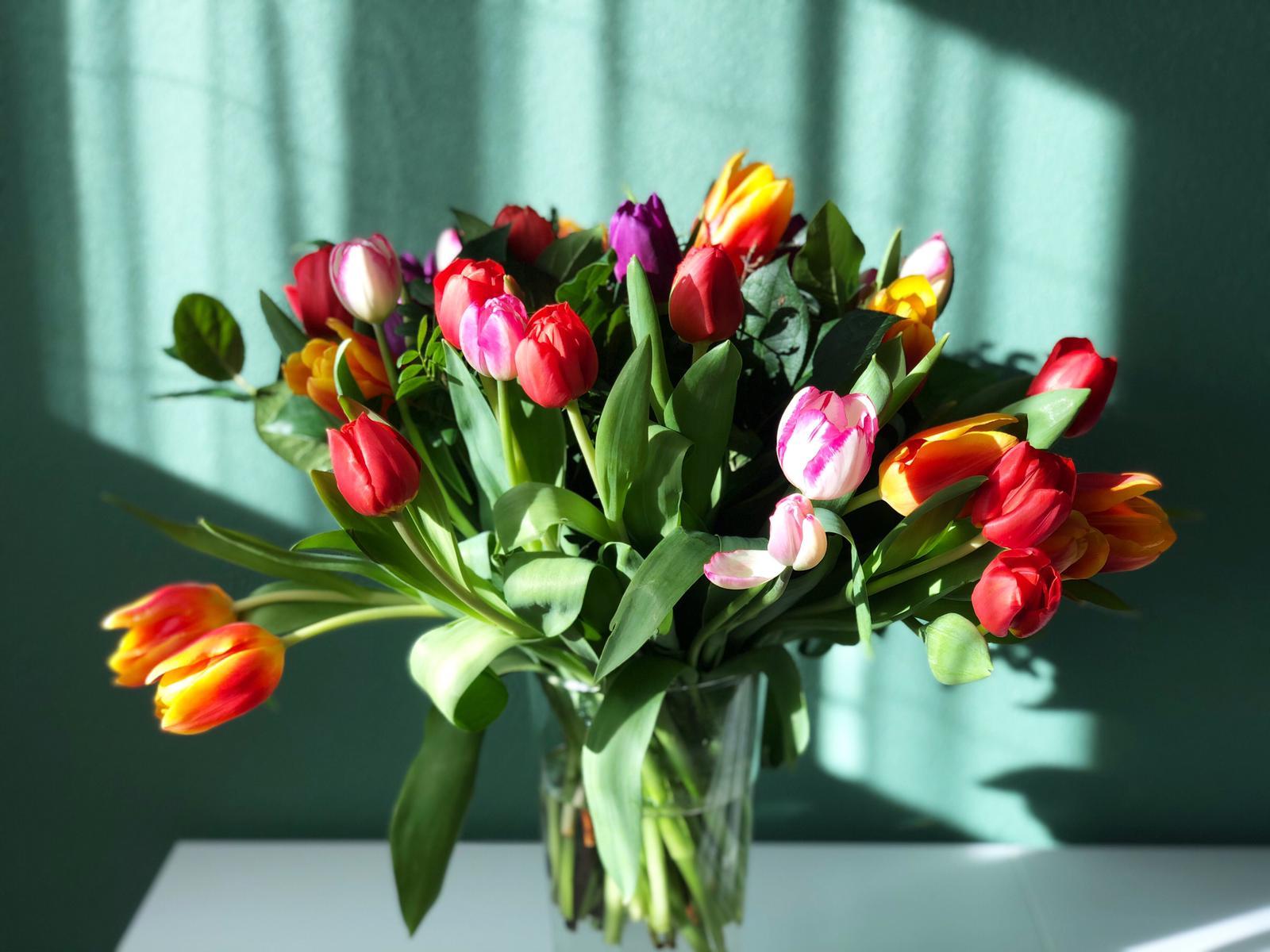 Met bloemen is alles beter