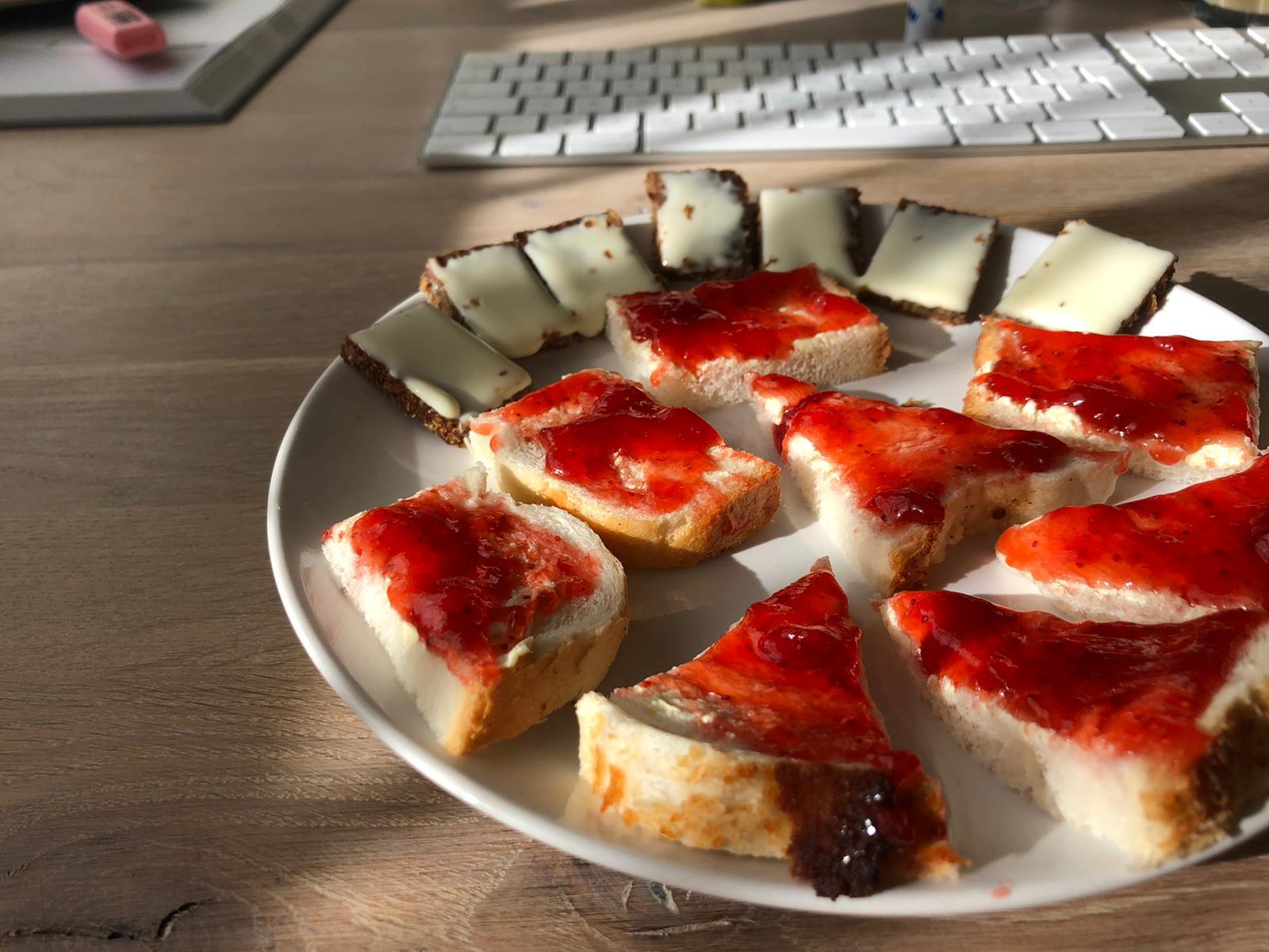 Ontbijtje in hapklare brokken
