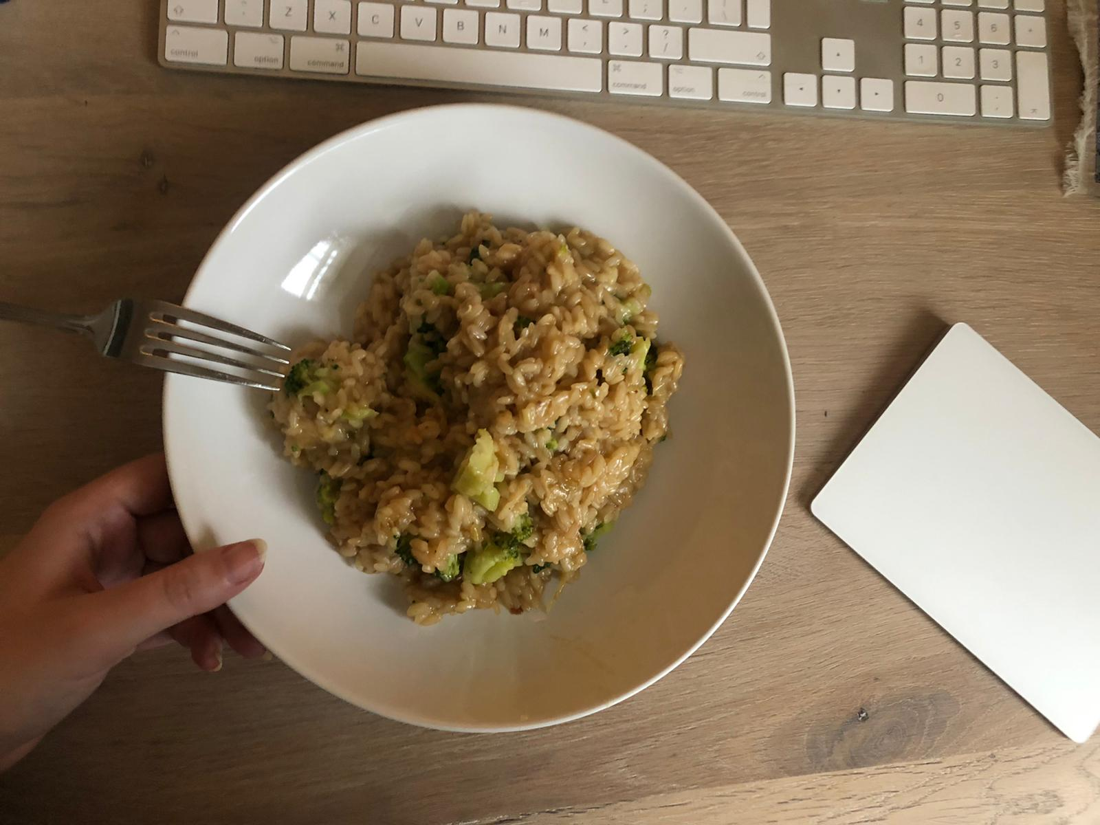 Risotto als lunch
