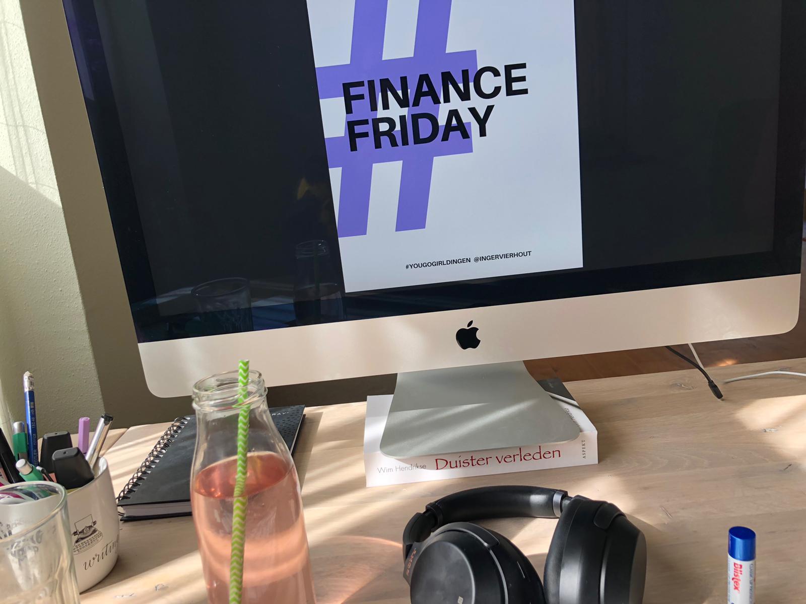 Finance Friday van Ingèr Vierhout