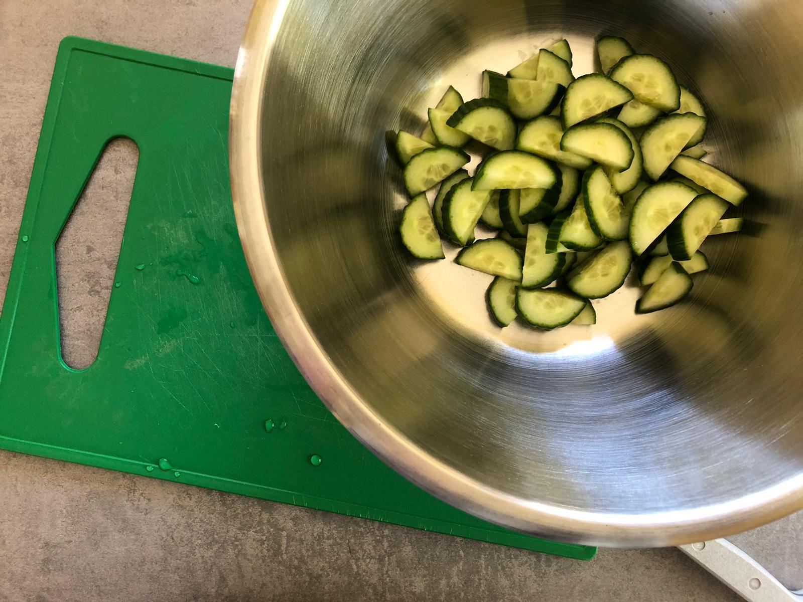 Komkommer in wording