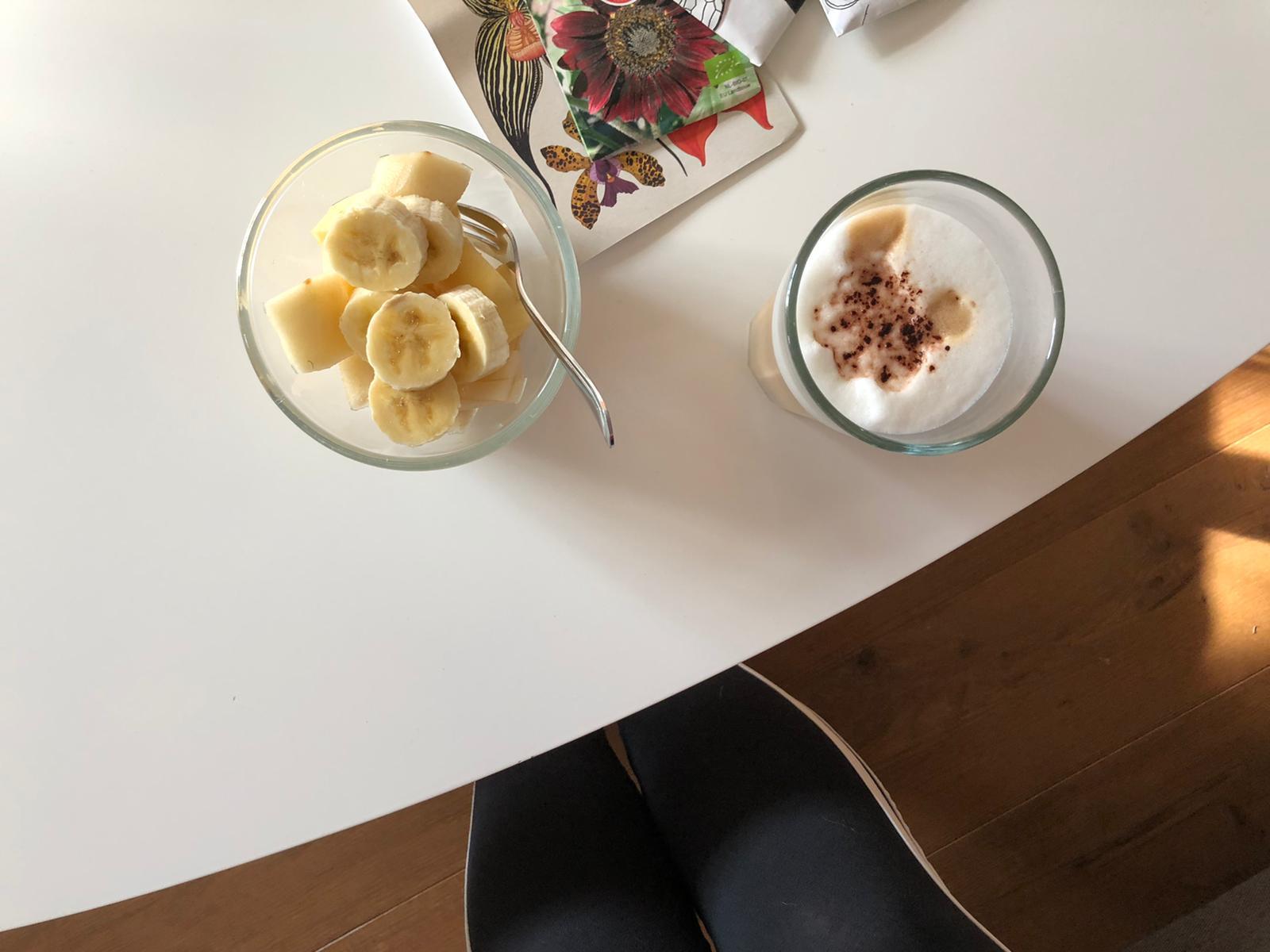 Niet meer achter iMac ontbijten