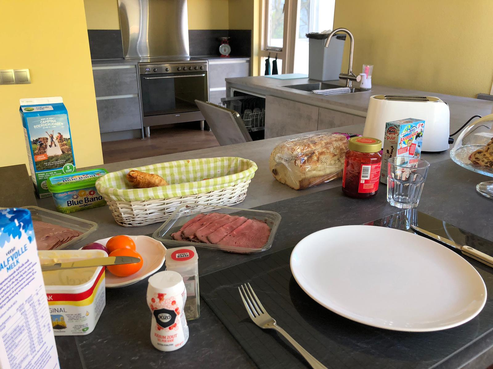 Ontbijten met Pasen