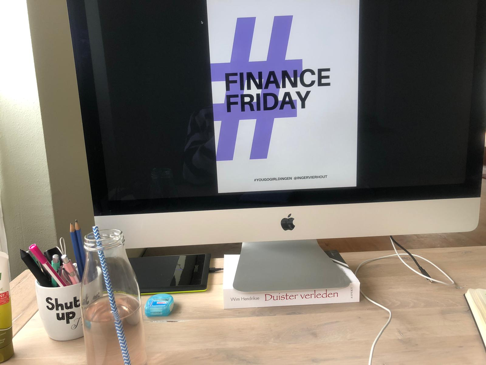 Finance Friday van Ingèr Vierhout