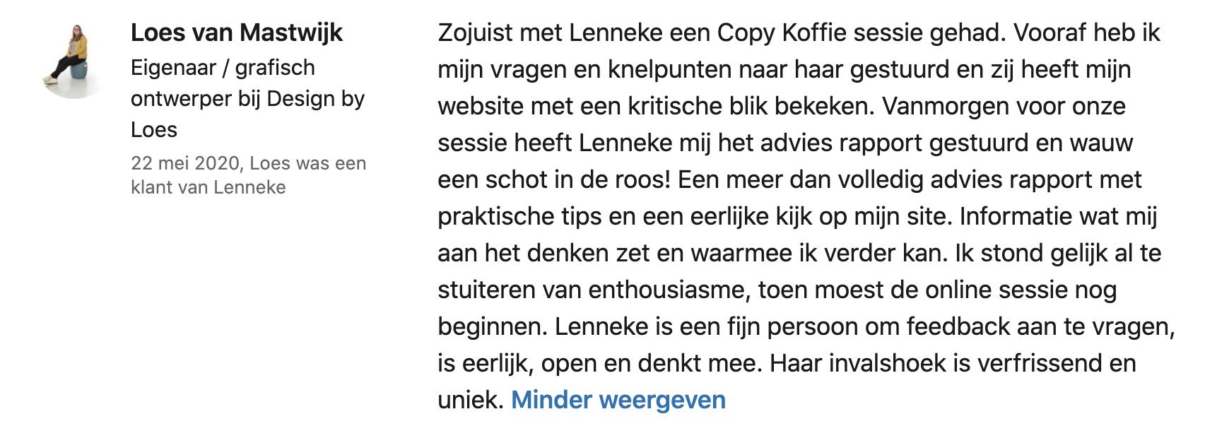 Review Copy Koffie tekst- en conversiecoaching