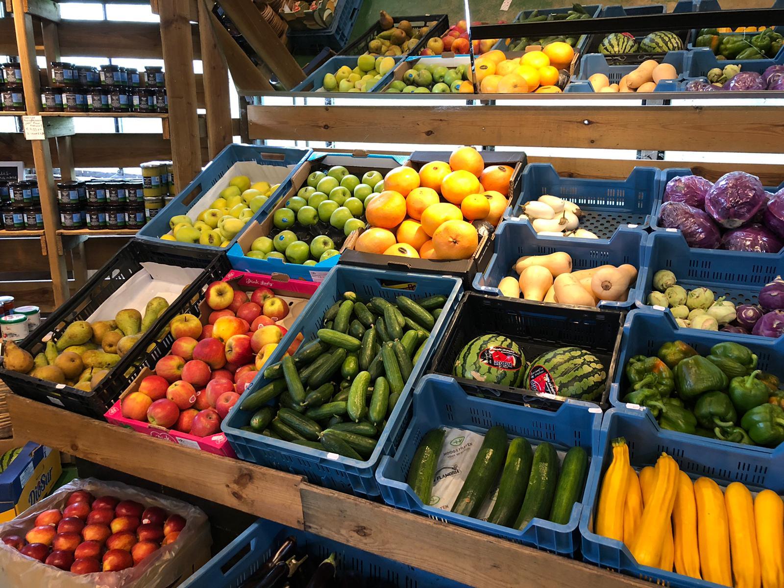 Groenten en fruit kopen