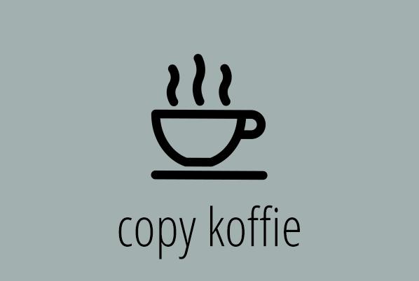 copy koffie